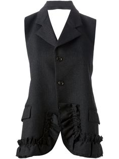 Comme Des Garçons Vintage 'robe De Chambre' Backless Jacket - House Of Liza - Farfetch.com