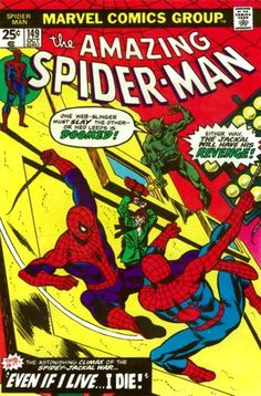 THE AMAZING SPIDER-MAN #149 1st Appearance of Ben Reilly, The Scarlet Spider