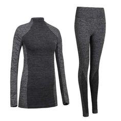YUIYE Quick Dry Thermal Underwear Set - Women's