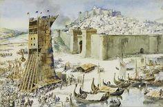 File:Siege of Lisbon by Roque Gameiro.jpg