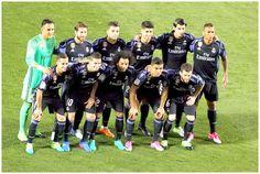 Equipos de fútbol: REAL MADRID contra Leganés 05/04/2017