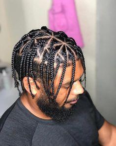 98 Amazing Braids for Men Easy & Trending Braids Hair St. - 98 Amazing Braids for Men Easy & Trending Braids Hair Style Ideas - Braid Styles For Men, Hair Twist Styles, Curly Hair Styles, Natural Hair Styles, Cornrow Hairstyles For Men, Twist Hairstyles, Cool Hairstyles, Hairstyles 2018, Cornrows Men