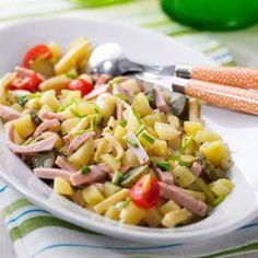 Kartoffel-Käse-Wurstsalat