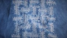 4 Essential Steps to Create a Beautiful Basketweave Shibori Pattern
