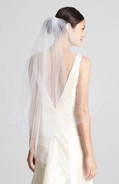 Wedding Belles New York 'Ellen' Veil available at #Nordstrom