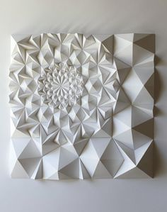 geometric sculpture / matthew schlian