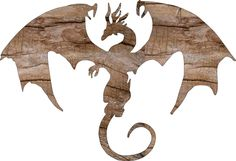 "Dragon Wooden Cutout * Silhouette Shape * Wall Hanging * Kids Room Decor * Cut in .75"" Cabinet Grade Plywood,, #10-094-01 by Woodfromtexas on Etsy"