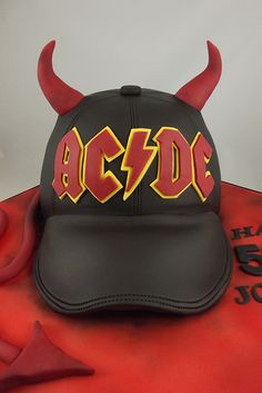 AC/DC birthday cake | by Sweet Treats cakes by Allison Ac Dc Band, Burnt Offerings, Cupcake Cakes, Cupcakes, Biscotti, Amazing Cakes, Party Time, Sweet Treats, Baking