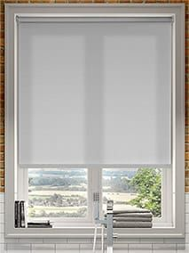 Linked Sunscreen Roller Blinds Fitted Outside The Window