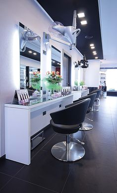 Hair Salon ideas Made In Italy - www.salonambience...