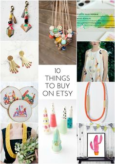 10 Things I Want to Buy on Etsy