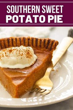 """A pinner said""""it's not even baked & it's still delicious."""" Rich smooth and creamy! Sweet Potato Pie Filling, Homemade Sweet Potato Pie, Paleo Sweet Potato, Roasted Sweet Potatoes, Southern Sweet Potato Pie, Baked Potato, Southern Desserts, Southern Recipes, Easy Desserts"""