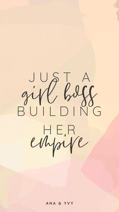 Animated watercolor swashes and your favorite quotes. Frases Girl Boss, Girl Boss Quotes, Life Quotes Love, Woman Quotes, Quotes To Live By, New Week Quotes, Happy Thoughts Quotes, February Quotes, Dream Big Quotes
