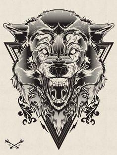 Impressive illustrations by Joshua M. Smith, a graphic designer from Orlando, FL, USA.