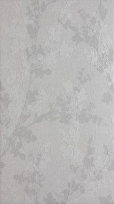 Grey Laura Ashely Wintergarden Grey Floral Bathroom Tiles