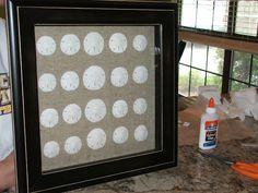 Painting Sea Shells Shadow Box New Ideas Sand Projects, Seashell Projects, Seashell Crafts, Craft Projects, Seashell Art, Craft Ideas, Painting Glass Jars, Seashell Painting, Glass Art
