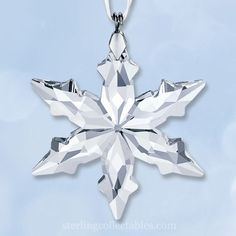 2015 Swarovski Annual Mini Star Crystal Ornament