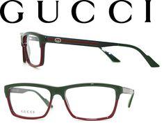 237b147dfff woodnet Rakuten Global Market  Glasses GUCCI green x red Gucci eyeglass  frames eyeglasses GUC
