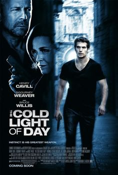 The Cold Light of Day (Sept. 2012) - Henry Cavill <3 I know what I'll be seeing for my birthday! ;)