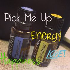 Apply 2 drops of doTERRA's Peppermint essential oil over your chest and then layer 2 drops of Elevation essential oil over the top for energy & a pick me up!! www.mydoterra.com/inspiredbyd Ask me how you can get 25% off (wholesale prices) - NO sales or minimums!! Just awesomeness