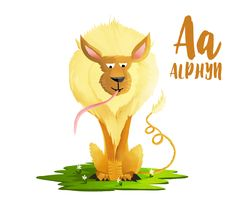 Alphyn - Animal Alphabet https://www.facebook.com/KatjaPotokarIllustration/