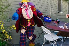 Modern Family...Cameron as Fizbo the clown! Such a funny episode!