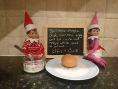 Elf on the shelf magic kinder egg
