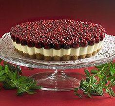 Joulukakku - tämä kakku kruunaa talven juhlapöydän! #joulu