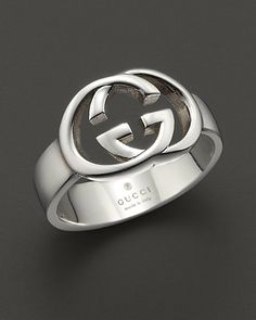 Lovely My better half wedding ring Gucci Sterling Silver Britt Ring