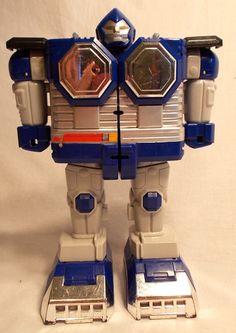 1998 Power Rangers Lost Galaxy Megazord - Blue Gorilla Zord Legs - Galactabeast