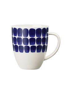 Tea & coffee, vacuum jugs, cafetiere, mugs, teapots Coffee Cups, Tea Cups, Blue Accents, Scandinavian Design, Nordic Design, Fine China, Finland, Dinnerware, Bedding Shop