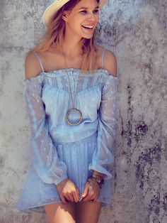 Free People Juliet Off Shoulder Dress at Free People Clothing Boutique