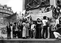 Gay Liberation Front rally in the aftermath of the Stonewall riots