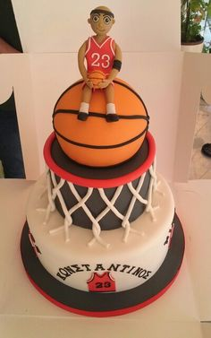 Basketball Birthday Cakes Images The Best Cake Of 2018