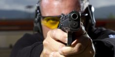 Study finds guns automatically prime aggressive thoughts -- even when wielded by a 'good guy'. The purpose of the new study, from Ohio State University, was to not only confirm the phenomenon but to examine the influence of contextual factors. Outdoor Shooting Range, Human Target, Michael Brown, Types Of People, Glasses Online, Social Science, Natural Disasters, A Good Man, Biology