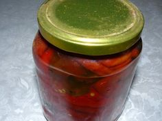 Canning Pickles, Pickels, Romanian Food, Preserves, Salsa, Deserts, Frozen, Food And Drink, Mai