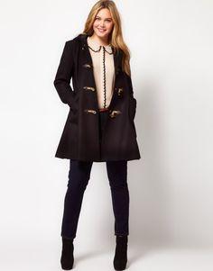 ASOS CURVE Exclusive Swing Duffle Coat: