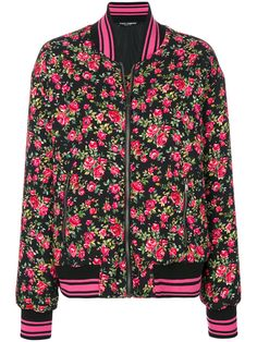 Buy Dolce   Gabbana Dolce   Gabbana Floral Bomber now at italist and save  up to EXPRESS international shipping! a70d8b4af6