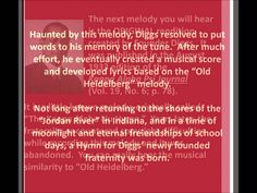 The History of the Kappa Alpha Psi Hymn - YouTube