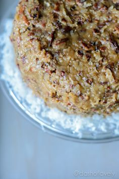 German Chocolate Cake - dashoflovely.com