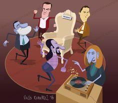 Juego de tronos. By Paco Ramirez&Mr.Illustrator