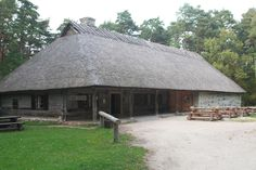 The Kolu kõrts is a relocated authentic inn originally built in the Estonian vernacular style in the village of Kolu