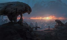 Ancient Civilizations: Lost & Found KeyFrame, Pablo Dominguez on ArtStation at https://www.artstation.com/artwork/lK5JJ