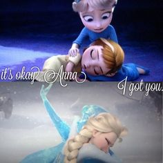 """It's okay Anna. I got you."" The two most touching scenes in the movie."