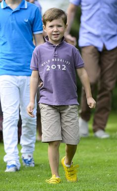 Prince Christian of Denmark, eldest son of Crown Prince Frederik and Crown Princess Mary - 20/07/2012