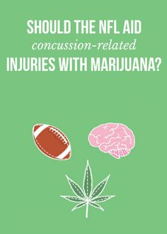 Should the NFL aid concussion-related injuries with medical marijuana?   massroots.com