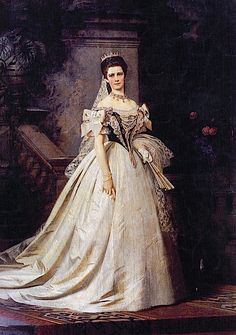 1867 Sisi in Hungarian court dress
