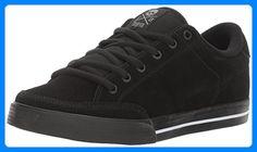 C1RCA Unisex-Erwachsene Lopez 50 Low-Top, Schwarz (Black/White/Gray), 41 EU - Sneakers für frauen (*Partner-Link)