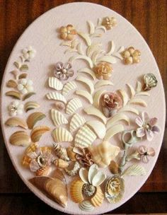 Diy Sea Shell Projects 18 - Awesome Ideas To Be Done With Seashells Seashell Painting, Seashell Art, Seashell Crafts, Sea Crafts, Diy And Crafts, Arts And Crafts, Seashell Projects, Shell Flowers, Shell Decorations