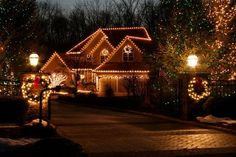 Great tips for lighting your home for the holidays.